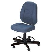 Koala Sewcomfort Chair Sapphire Cushion & African Ebony Base