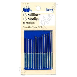 Best Hand Sewing Needles-The editor's choice: Dritz Milliners Hand-Sewing Needles