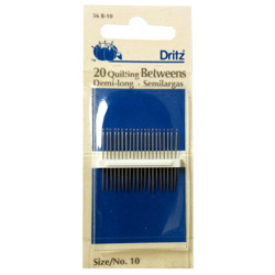 Dritz Quilting Betweens Hand-Sewing Needles