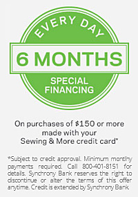 Every Day 6 Months Special Financing