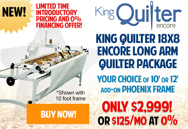 King Quilter Encore