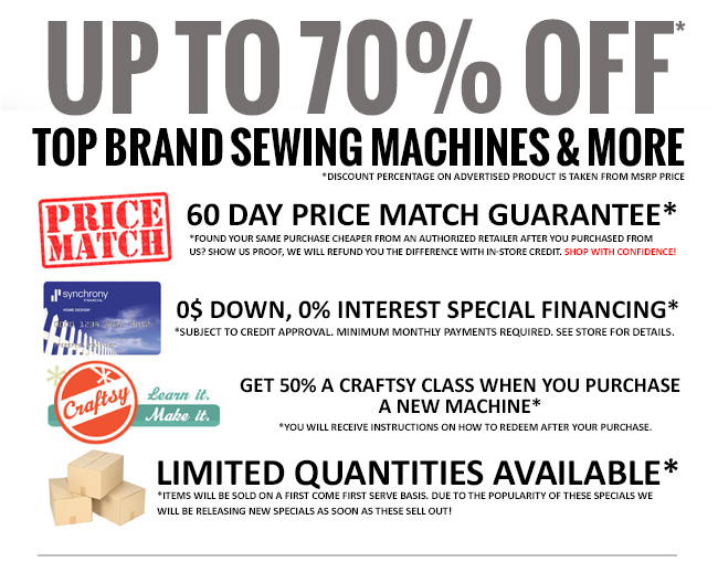 sewing machine black friday 2015