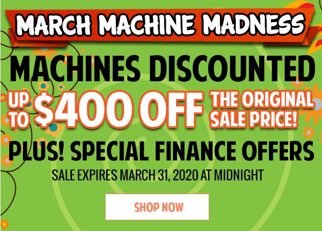 Shop March Machine Madness Sale