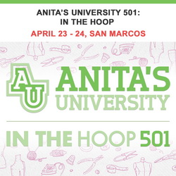 Anita's University 501: In The Hoop