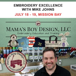Embroidery Excellence with Mike Johns