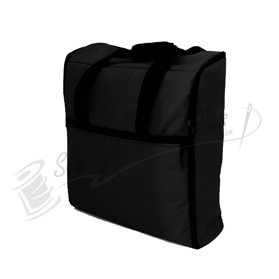 Bluefig emb im quot embroidery arm bag black