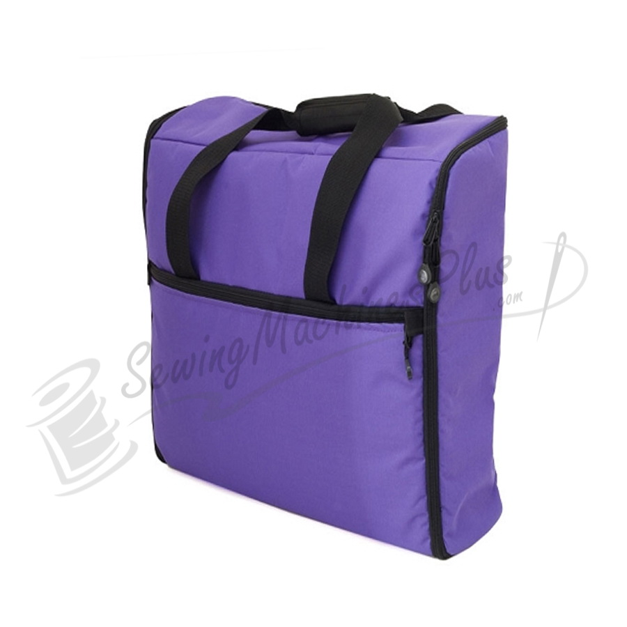 Bluefig emb im quot embroidery arm bag purple
