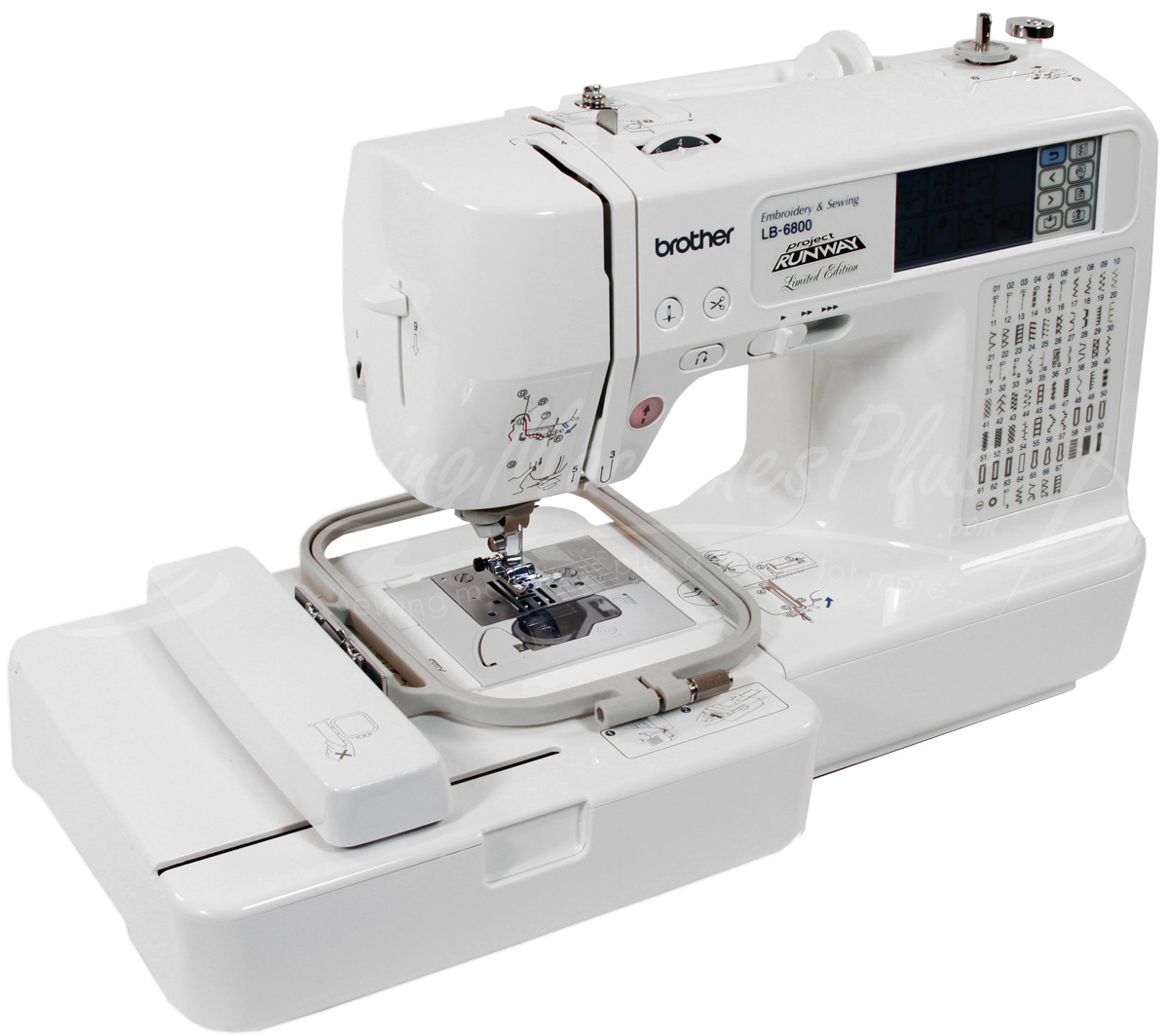 lb6800 sewing embroidery machine