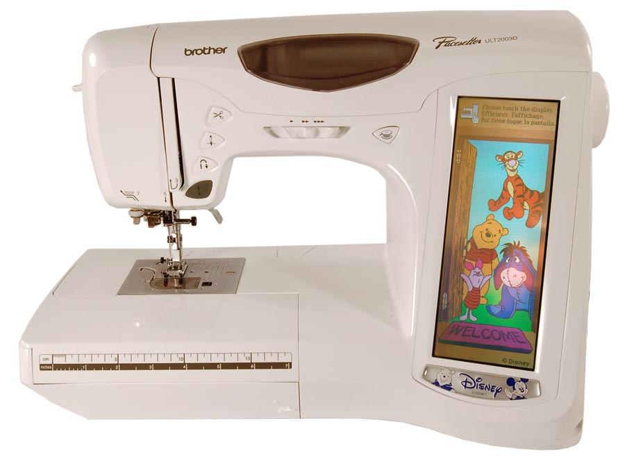 sewing and embroidery machine disney