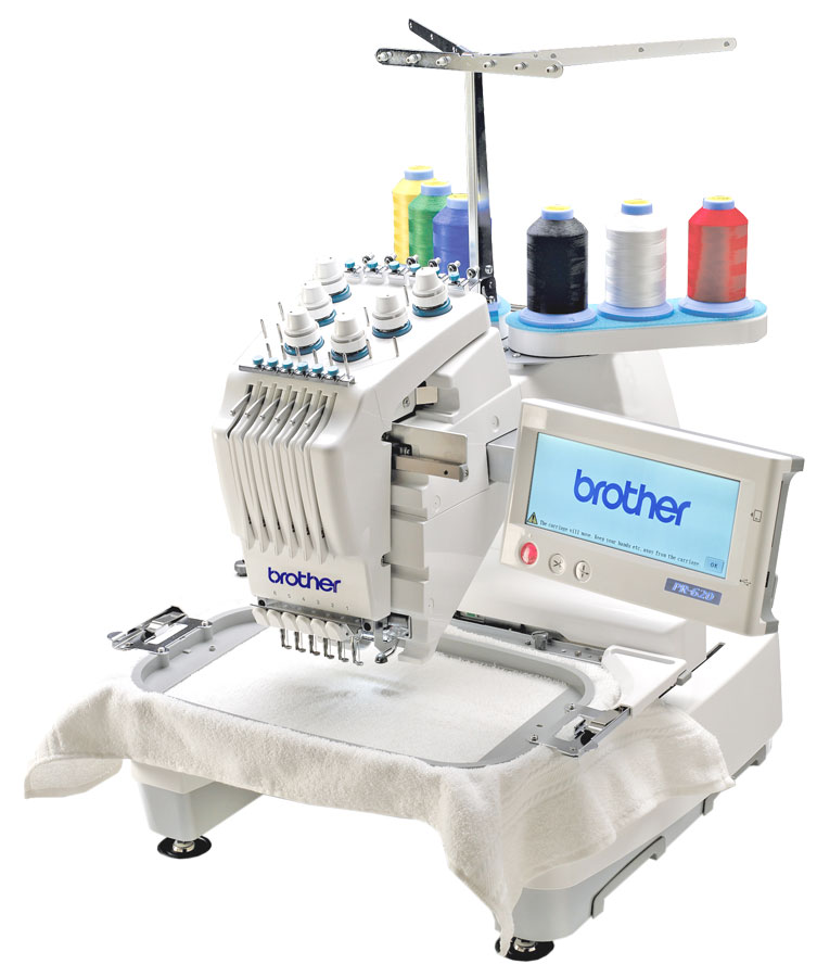 Brother PR620 6 Needle 8x12quot Embroidery Machine