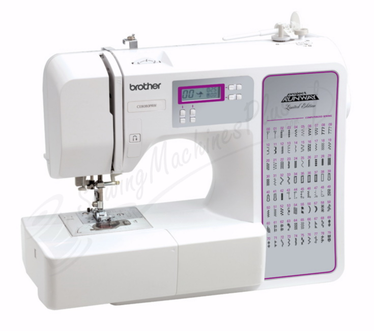 brother project runway sewing machine ce8080prw manual