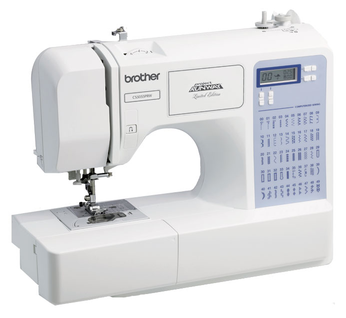 Brother CS-5055 PRW Limited Edition Project Runway 50 Stitch Computerized Sewing Machine