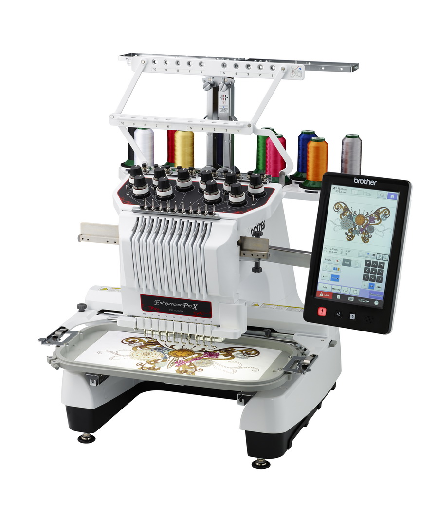 Brother Entrepreneur ProX PR1050X MultiNeedle Embroidery