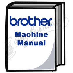 Brother CS-100T manual, English - PDF file