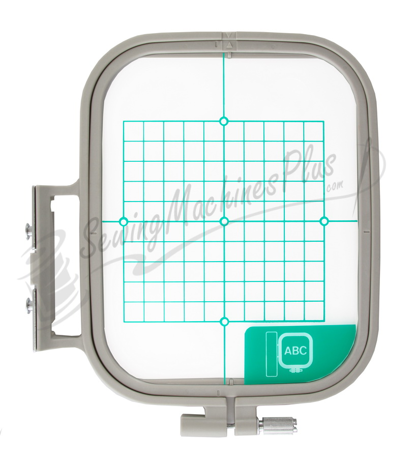Brother medium embroidery hoop inch area