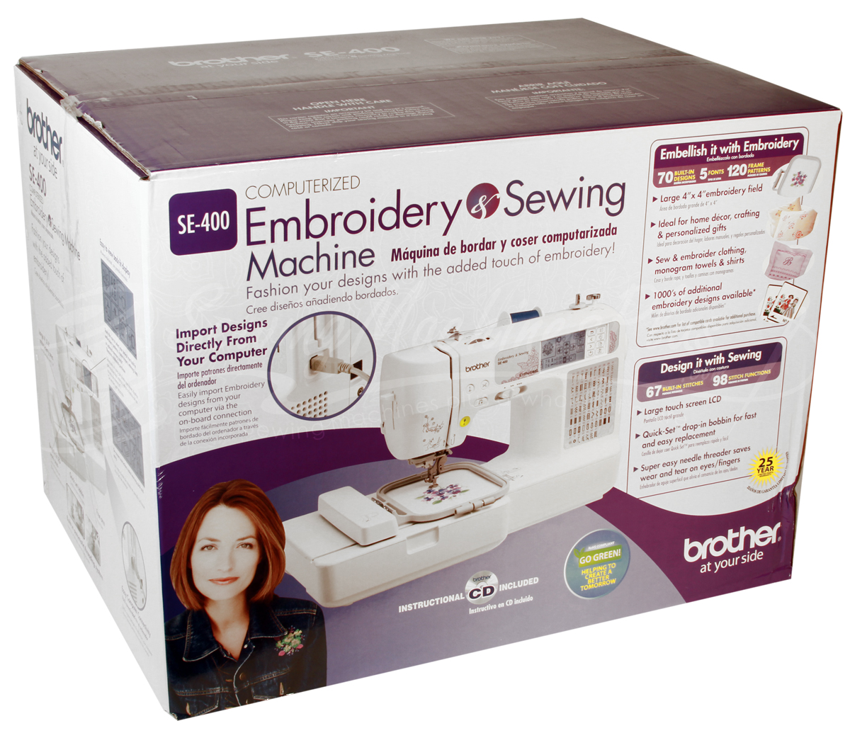 se400 sewing and embroidery machine