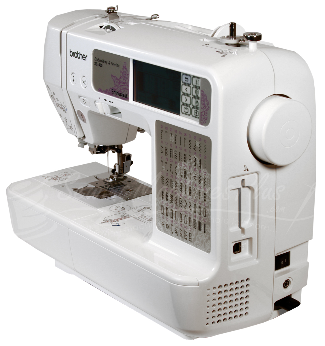 Brother SE-400 Sewing & Embroidery Machine With Computer