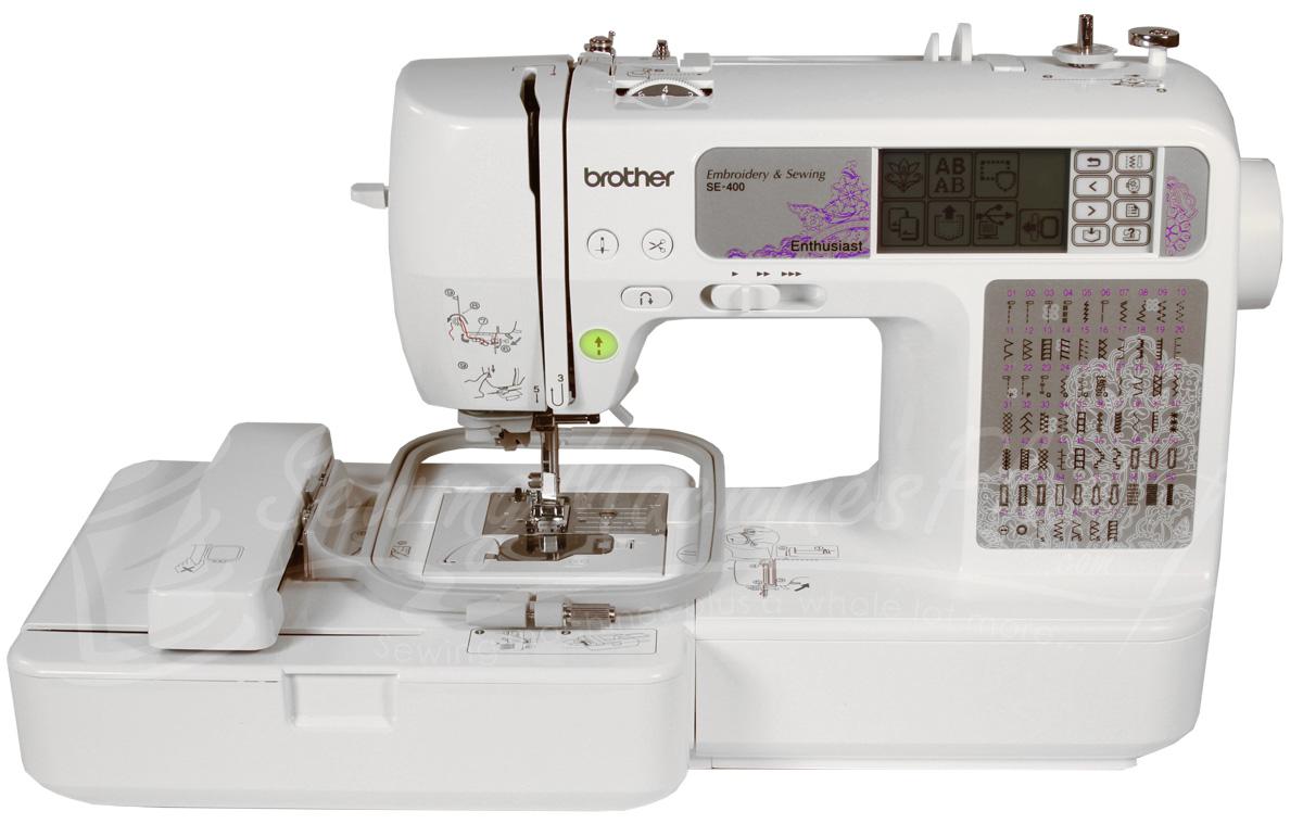 se 400 embroidery machine