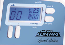 XR-9500 PRW Project Runway Large LCD Screen