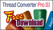 Free Floriani Thread Converter Pro III download.