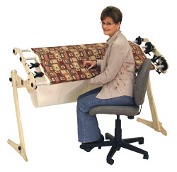 Grace EZ3 hand quilting frame.