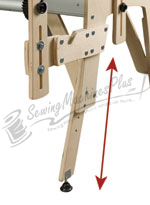 Gracie King Adjustable Legs