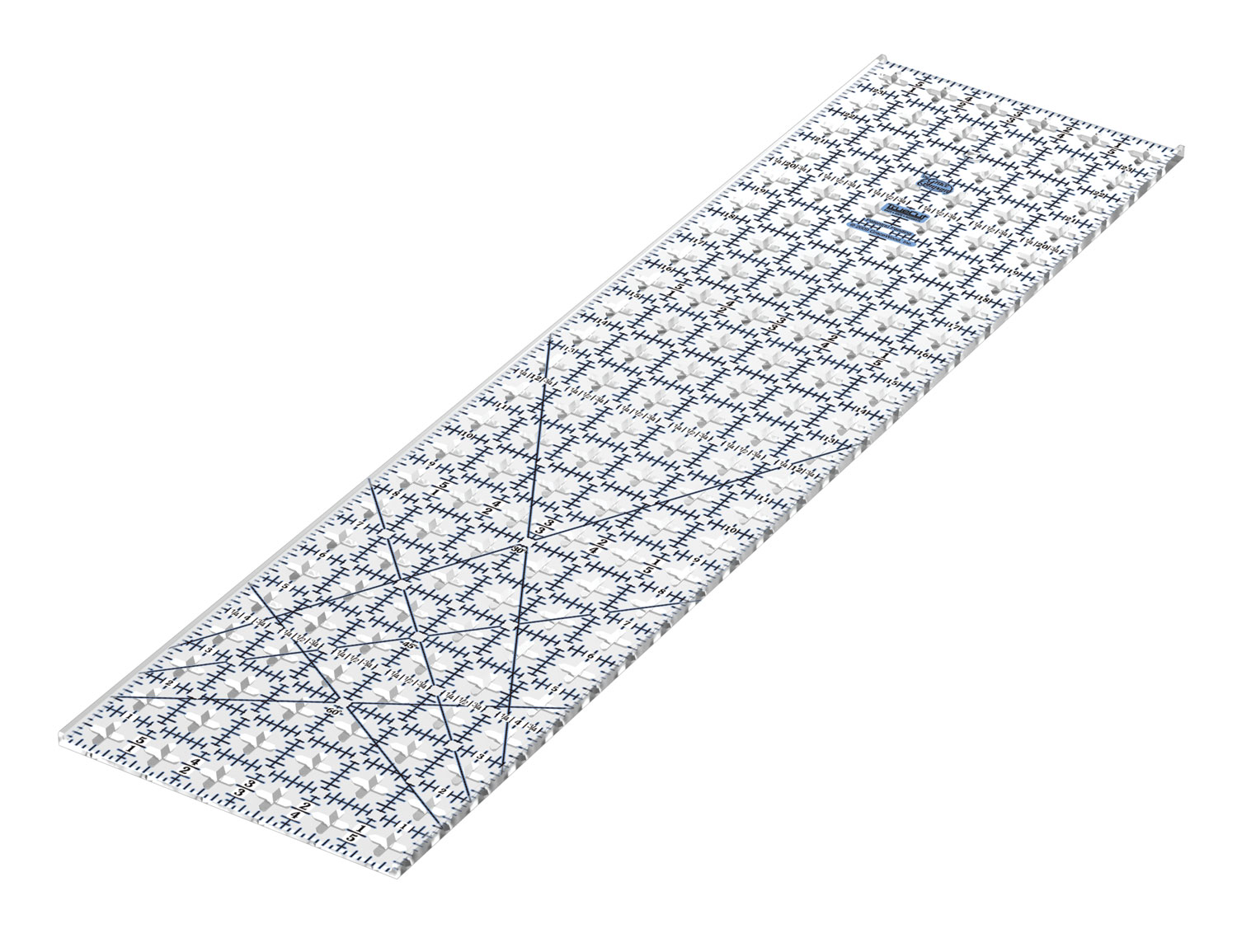 Quilting Rulers And Templates 6 Inch Ruler Template