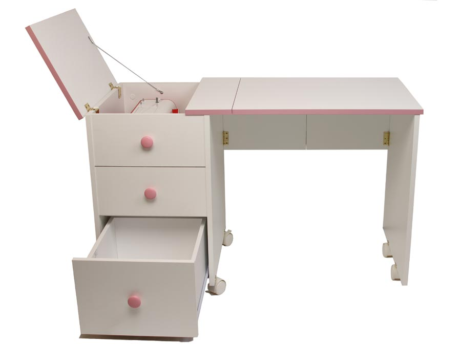 childs sewing table by horn of america. Black Bedroom Furniture Sets. Home Design Ideas