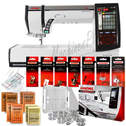Janome Horizon MC12000 Embroidery, Sewing & Quilting w/ FREE BONUS