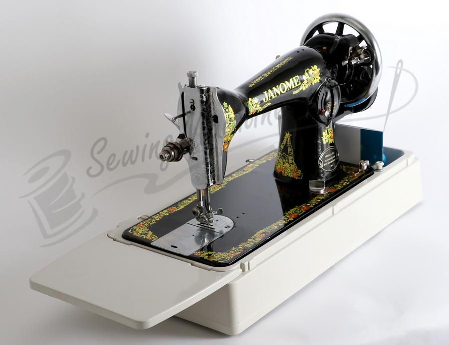 Janome 131hdl Hand Crank Sewing Machine Treadle Head