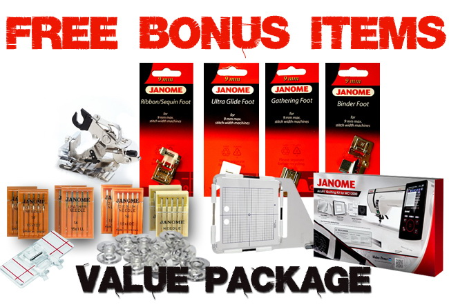 FREE BONUS Value Package Includes
