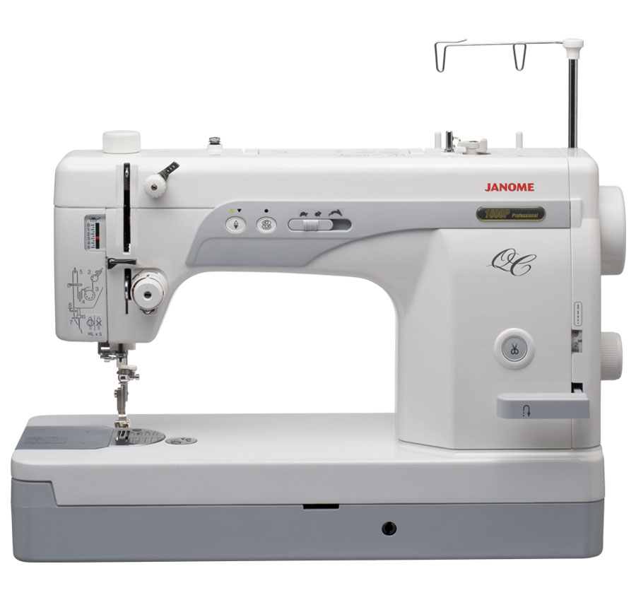 Refurbished janome 1600p qc high speed straight stitch machine