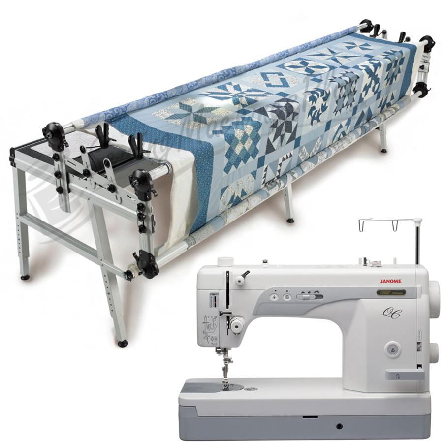 Janome 1600P-QC Sewing Machine w/ Grace GQ Quilting Frame | eBay