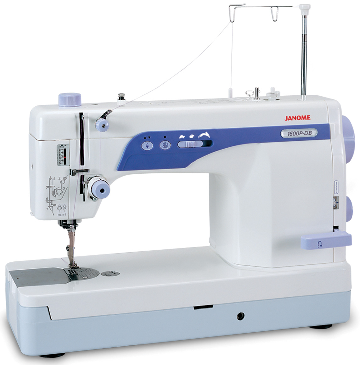 Janome 1600P-DB High Speed Sewing Machine (CLOSEOUT ONLY 2 LEFT)
