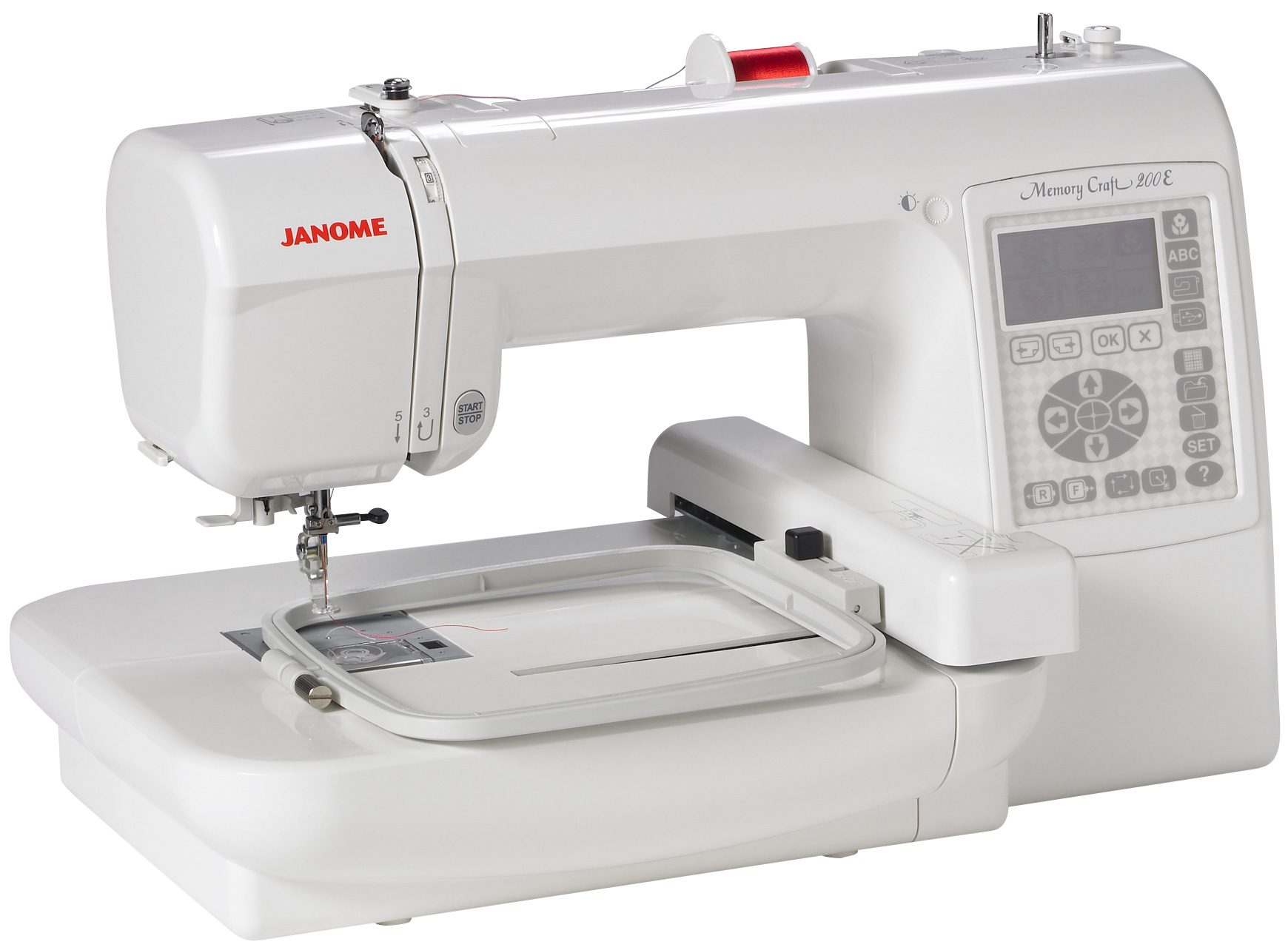 Janome embroidery machine patterns video search engine for Janome memory craft 350e manual