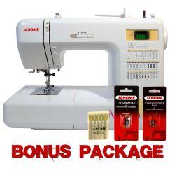 Janome Magnolia 7330 Sewing Machine w/ FREE BONUS & 5 Yr Ext Wnty