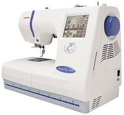 Janome Memory Craft 300E Embroidery Machine.
