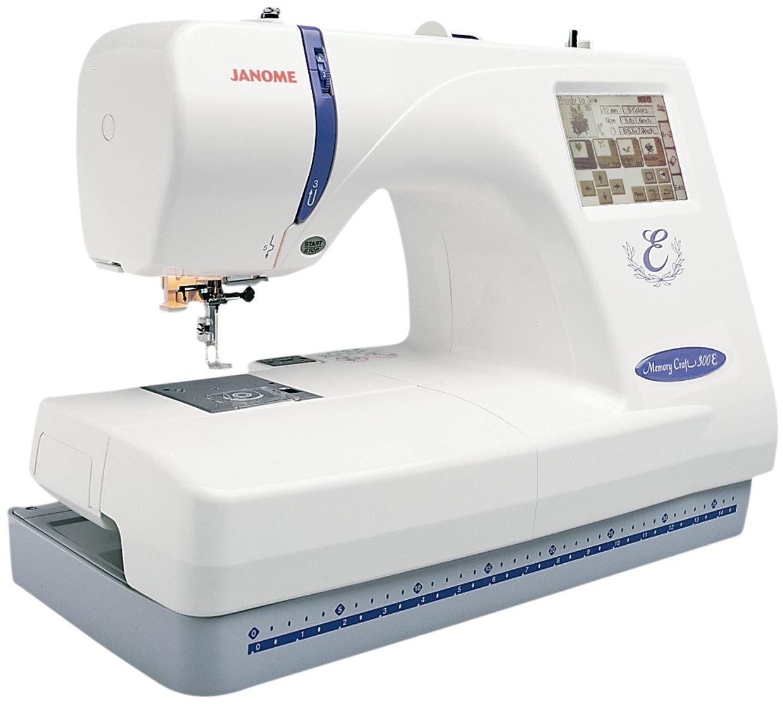 janome 300e embroidery machine