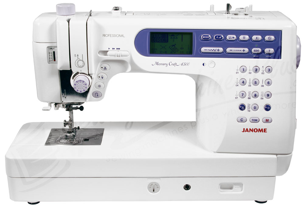 Janome Memory Craft 6500p Mc6500p Computerized Sewing