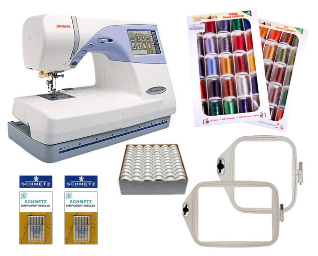 Janome memory craft 9500 sewing machine thread deal for Janome memory craft 9500