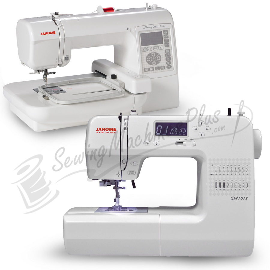 janome new home dc1018 sewing machine janome memory. Black Bedroom Furniture Sets. Home Design Ideas