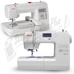 Janome new home dc1018 sewing machine janome memory for Janome memory craft 200e