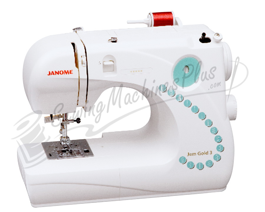 janome jem sewing machine