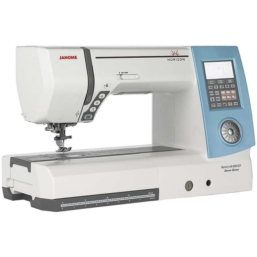 janome horizon memory craft 8900qcp special edition sewing