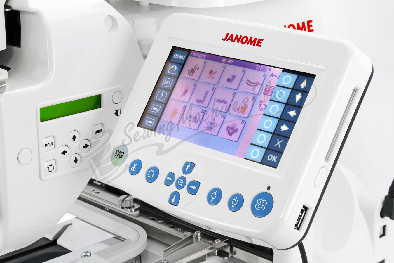 janome mb4s embroidery machine
