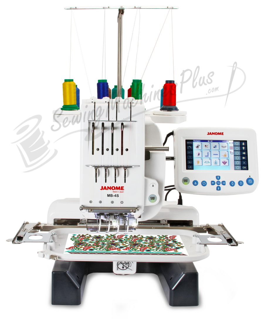janome mb4 embroidery machine