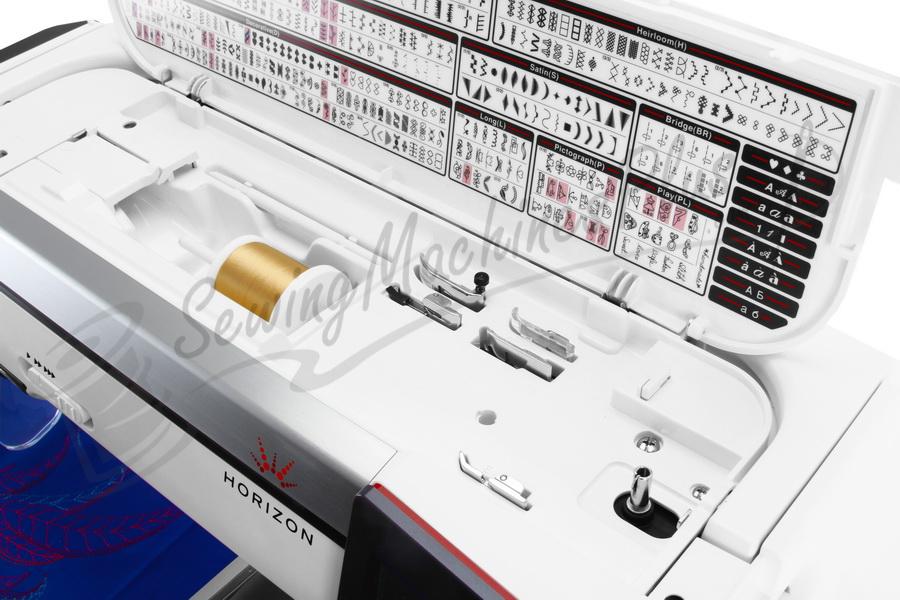 janome horizon mc12000 embroidery sewing machine