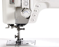 Janome Memory Craft 6300P Frontal Adjustments