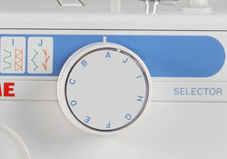 Janome S-590 - Stitch Selection Dial