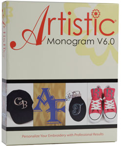 Janome Artistic Monogram V6.0 Software
